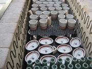 窯に入れる オリジナル マグカップ 陶器